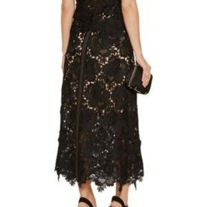 Catherine Deane black lace skirt